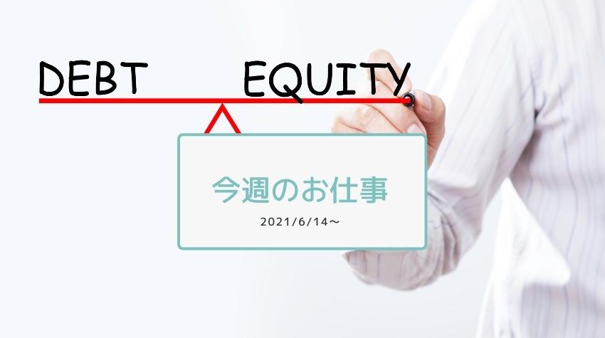今週のお仕事2021/6/14〜融資成功の話
